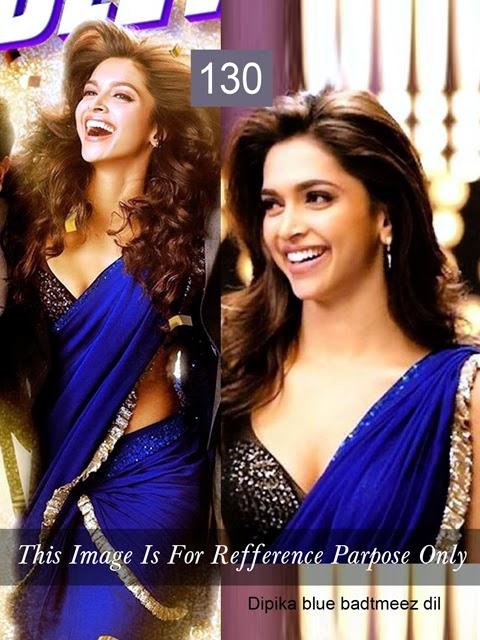 Deepika padukone blouse designs in yeh jawani hai deewani