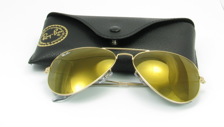 Gold Mirror Ray Ban Aviators