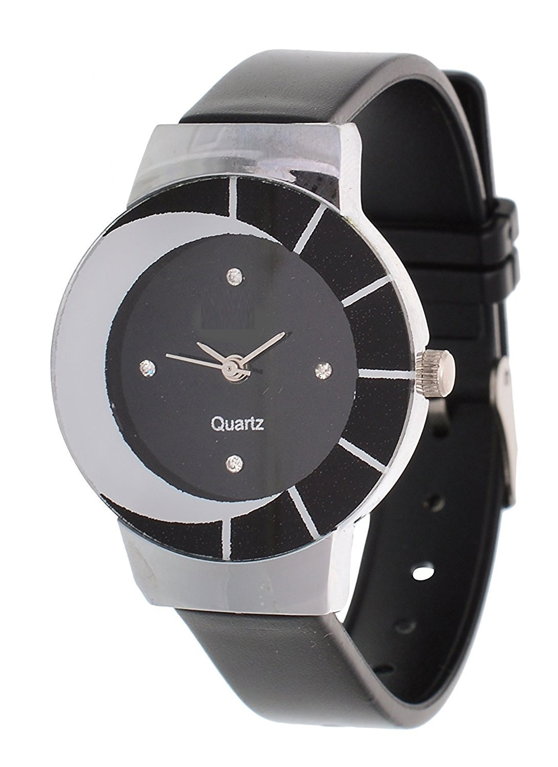 black designer glory watch for woman  by  miss