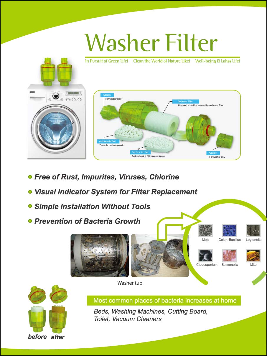 how to clean out washing machine filter