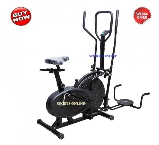 BRANDED MULTI ORBITRACK 3 IN 1 ELLIPTICAL BIKE EXERCISE CYCLE HOME GYM available at ShopClues for Rs.6930