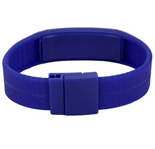 Danzen Digital Blue Dial LED Sports Unisex Watch-497 by An
