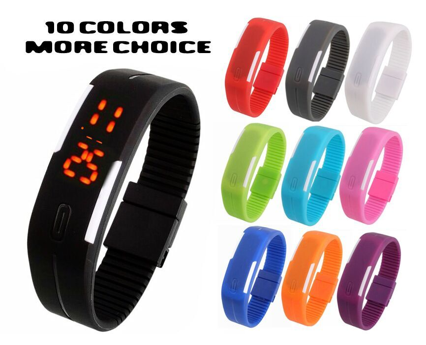 Digital LED Wrist Watch For Boys And Girls by g