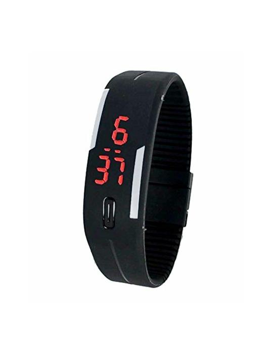 black digital led bracelate watch by jp
