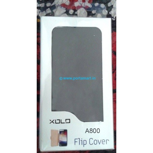 XOLO A800 ORIGNAL QUALLITY FLIP COVER IN BLACK COLOR available at ShopClues for Rs.255