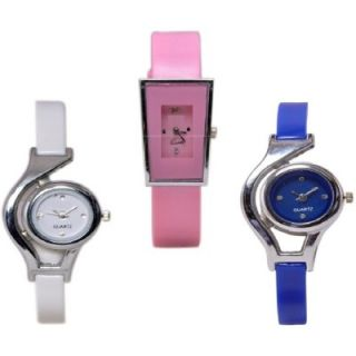 COLORS HANGAMA GLORY COMBO OFFER MISS UNIVERSE Analog Watch - For Girls, Women, Couple by 7Star