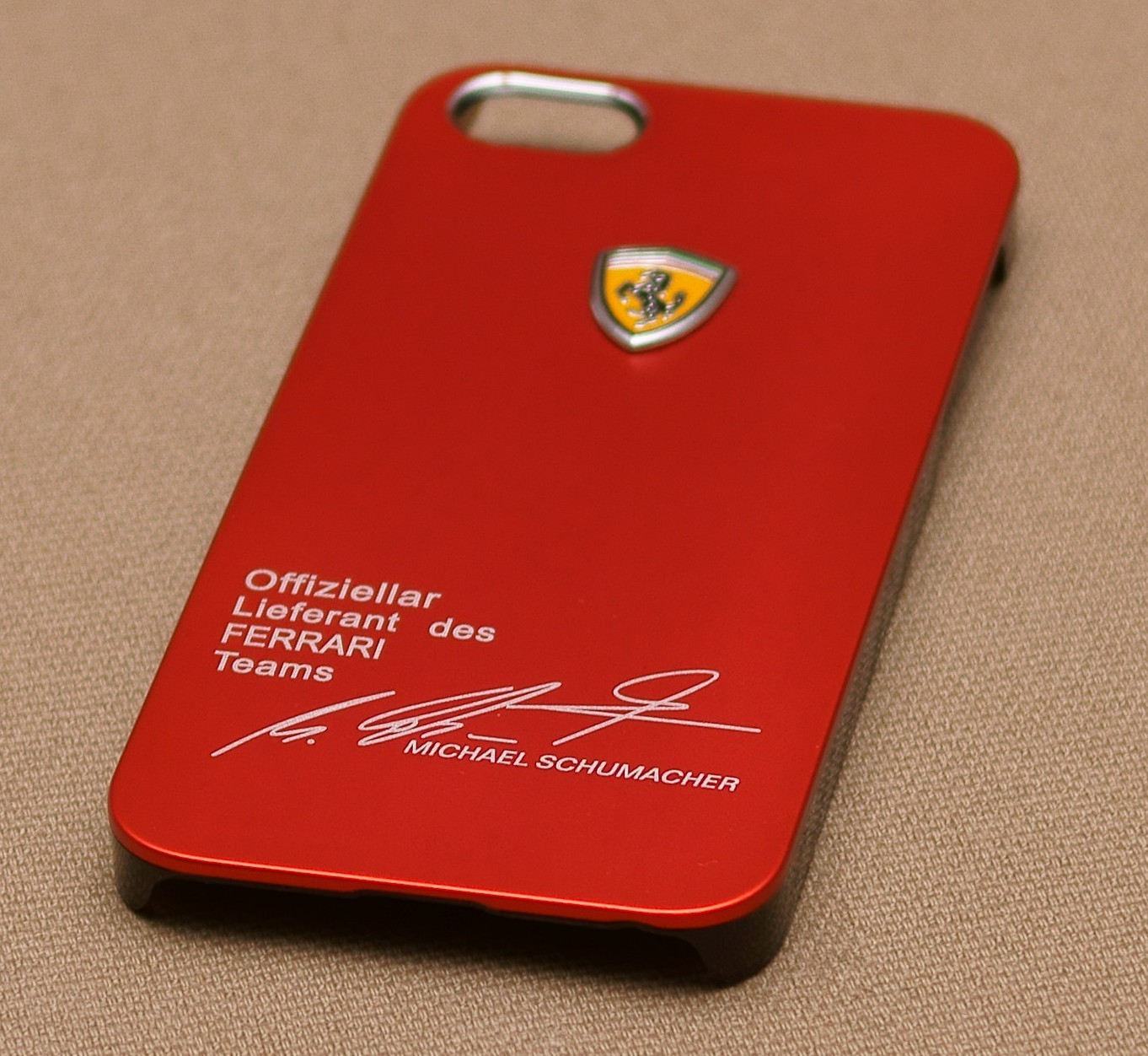 ferrari case Shop from the world's largest selection and best deals for ferrari mobile phone cases, covers and skins for apple shop with confidence on ebay.