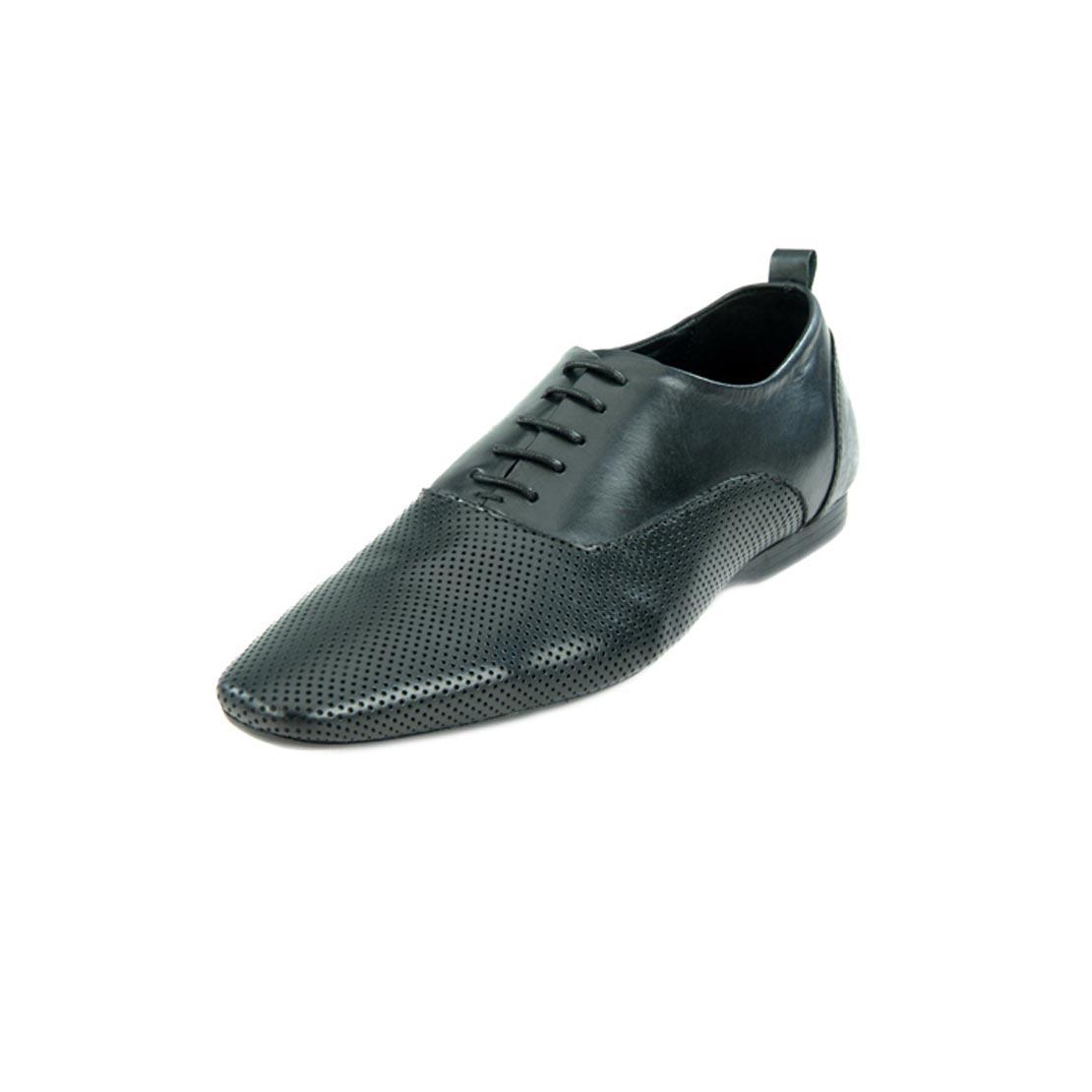 Franco Leone 222 Black Men's Formal Shoes