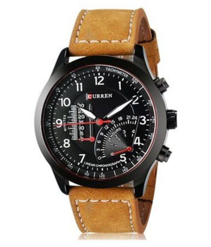 Curren Meter Round Analog Watch For Men,Boys By Hans