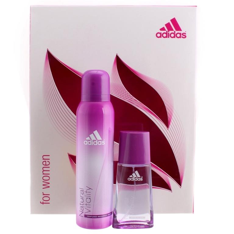 Adidas Perfume Women: Beauty & Perfumes :: Men :: Fragrances :: Combo/Gift Sets :: Adidas Natural Vitality Combo By