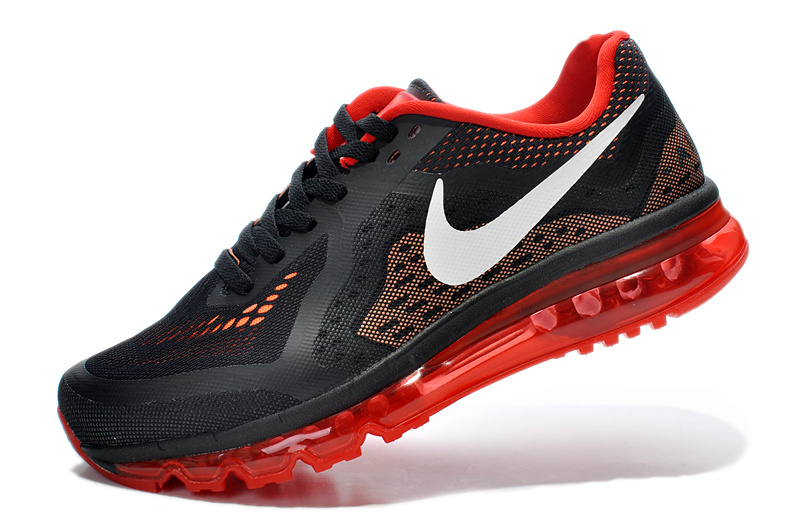 nike air max 2014 grey orange red shoes buy online from. Black Bedroom Furniture Sets. Home Design Ideas