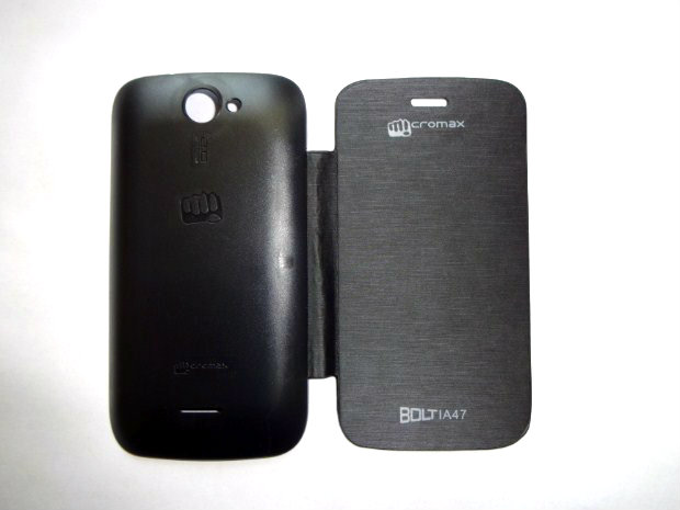 Micromax Bolt A47 Flip Cover available at ShopClues for Rs.165