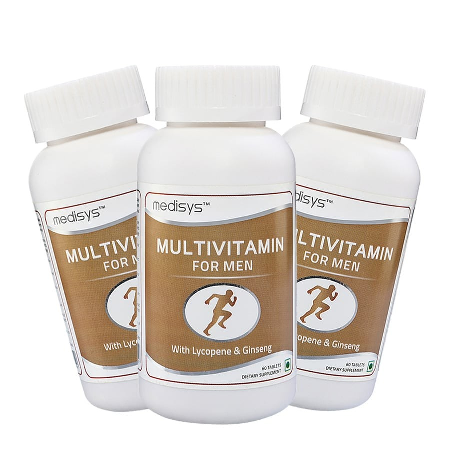Medisys Multivitamin for Men Combo of -3 Bottles