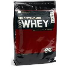 On Optimum Nutrition Gold Standard Whey 10lb