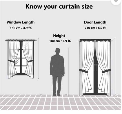 BSB Trendz Panle Print Pack Of 2 Door Curtain (P-147)