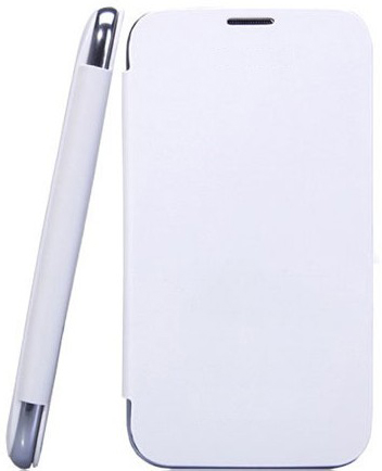 Micromax A67 Bolt Generic Flip Cover White available at ShopClues for Rs.215
