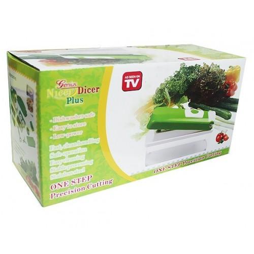 home kitchen dining tableware cutlery nicer dicer plus multi chopper vegetable. Black Bedroom Furniture Sets. Home Design Ideas