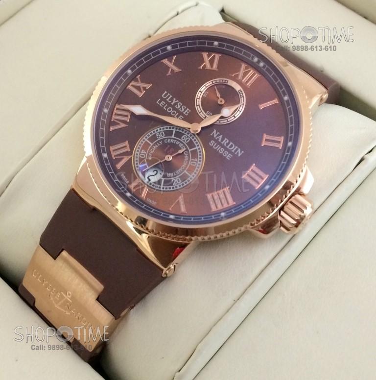 Мужские часы Ulysse Nardin Le Locle Suisse - Копии