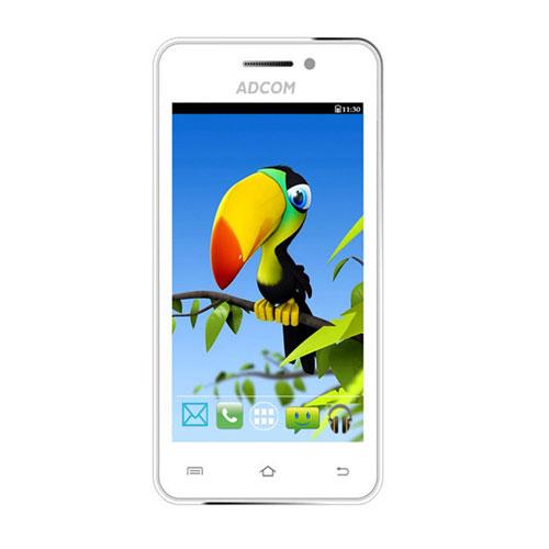 Adcom Smart Phone A-400 White