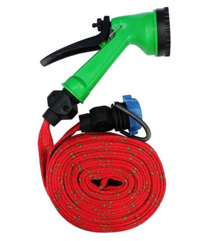 Water Spray Gun Car Washer With Pipe available at ShopClues for Rs.216