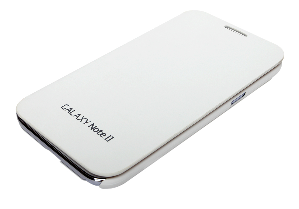 For Samsung Galaxy Note 2 Flip Cover  White available at ShopClues for Rs.199