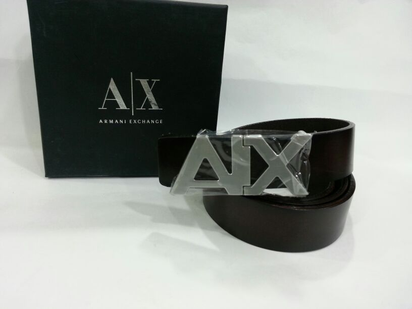 Armani Exchange Mens Belts  AX Store