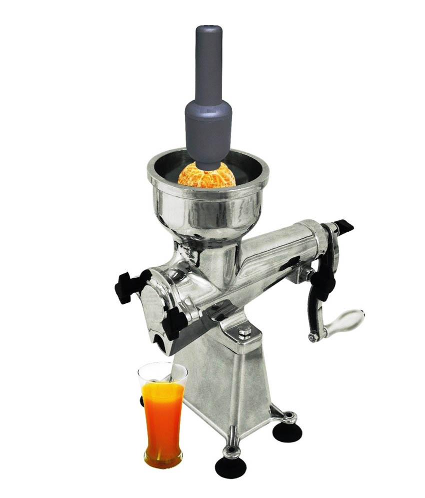 Slow Juicer Malta : JUICER MANUAL JUICER FRUIT JUICER ALUMINIUM BODY HAND OPERATED