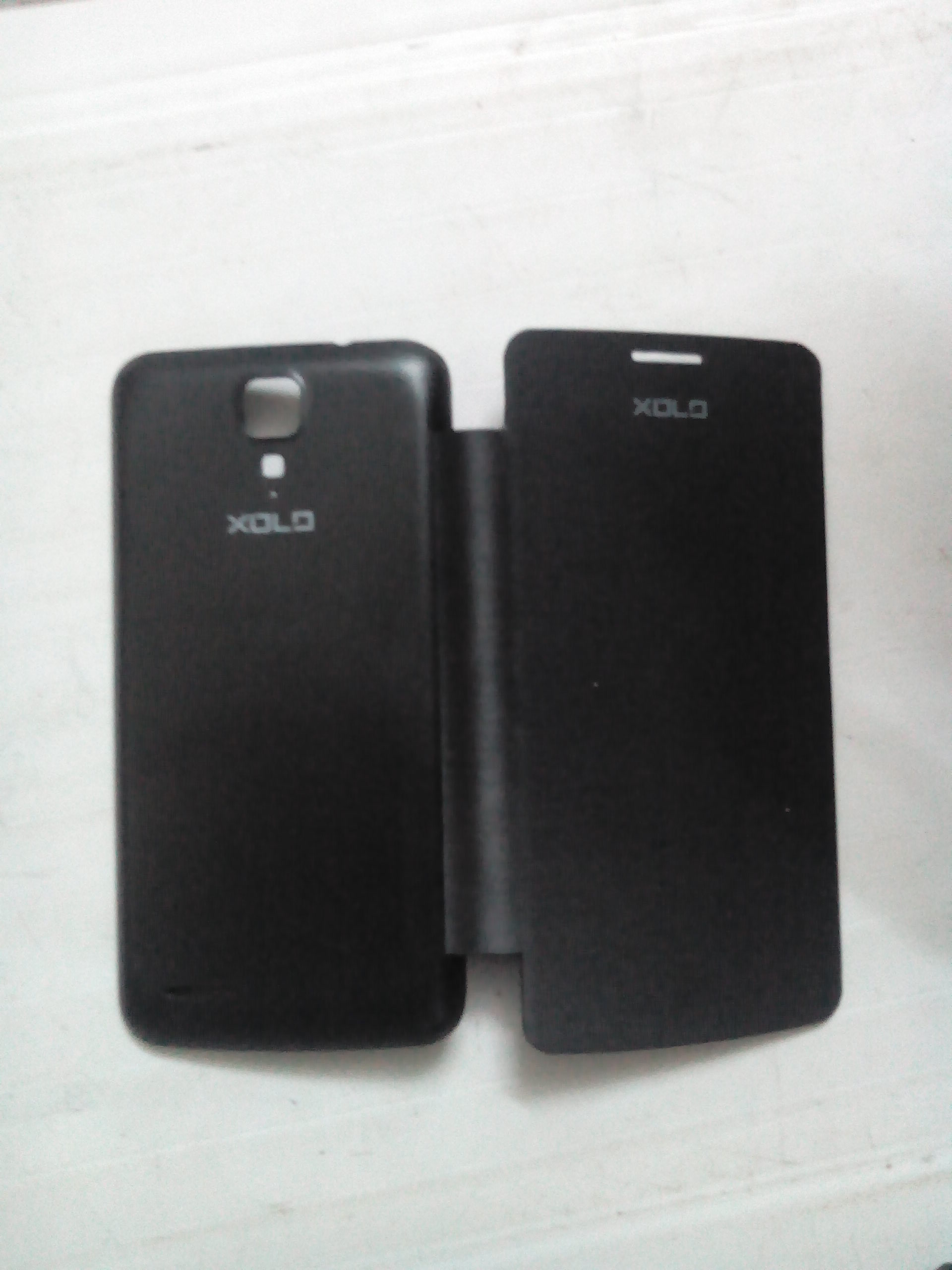 xolo q700  Q700I flip cover BLACK available at ShopClues for Rs.139