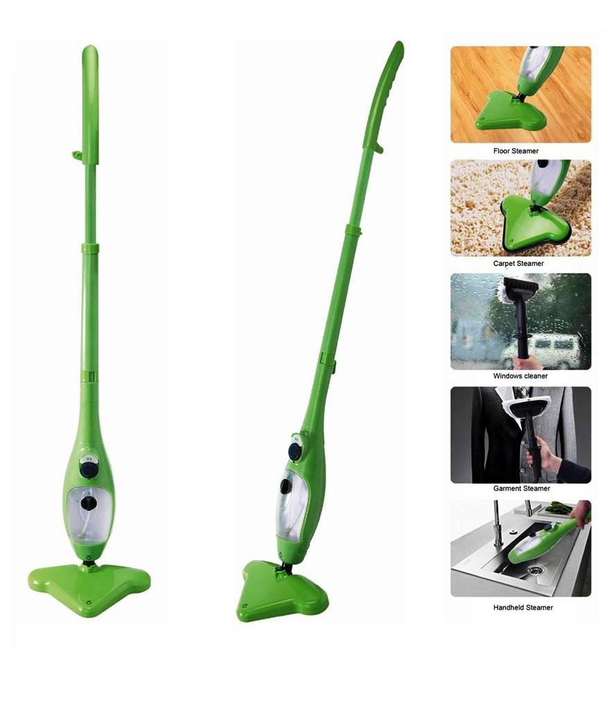 h2o steam mop how to use