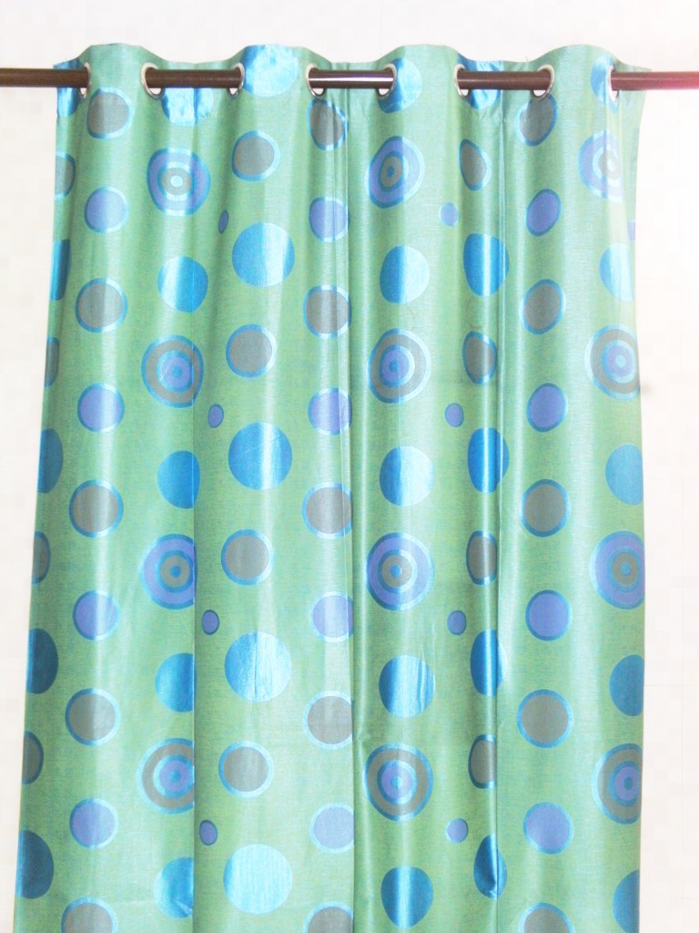 dot curtain lime green door buy curtains online in india