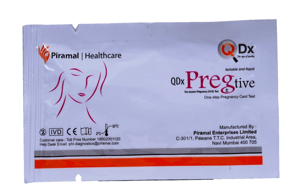 Piramal Pregtive Pregnancy Test Device ( 3 Pcs) Free Shipping