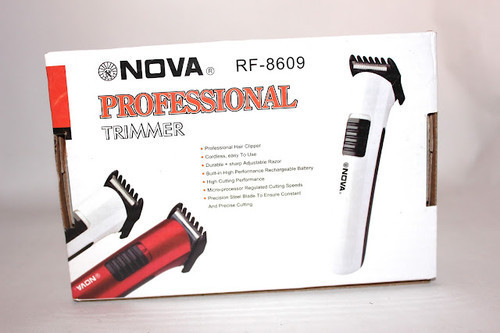 Nova Rechargeable Cordless Professional Hair Trimmer Razor Shaver Shaving Machine Clipper RF8609 RF 8609