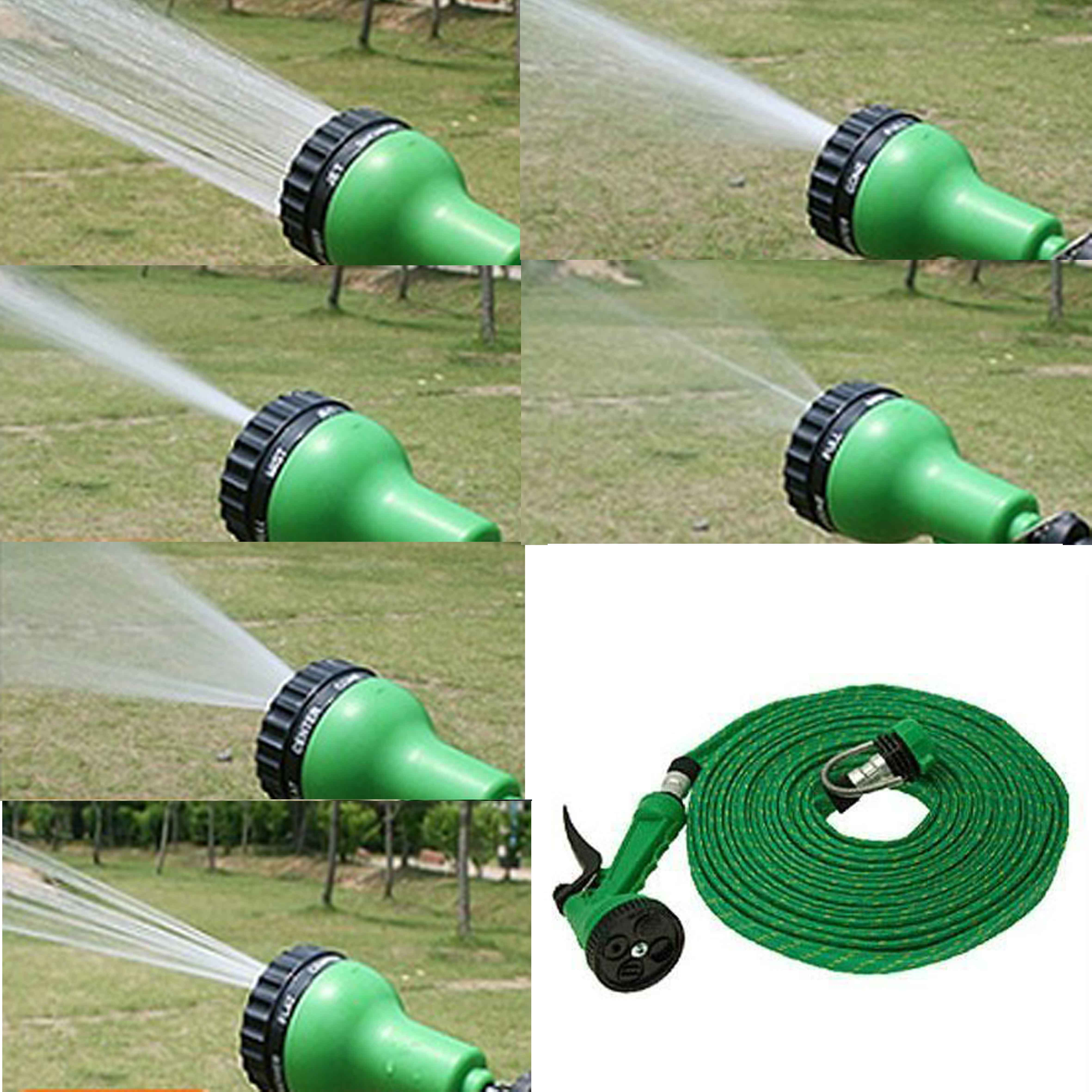 Car Wash Pipe with 6 spray modes  Water Pressure Spray Gun for CarBikeGarden available at ShopClues for Rs.160
