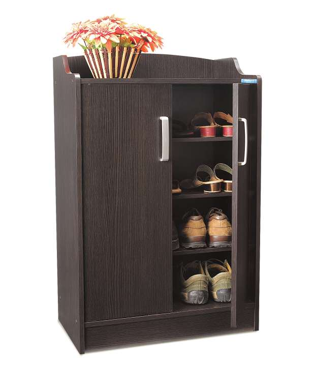 nilkamal gilbert shoe rack wenge prices in india