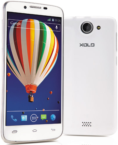 Touch Screen Digitizer Glass For XOLO Q1000 - White