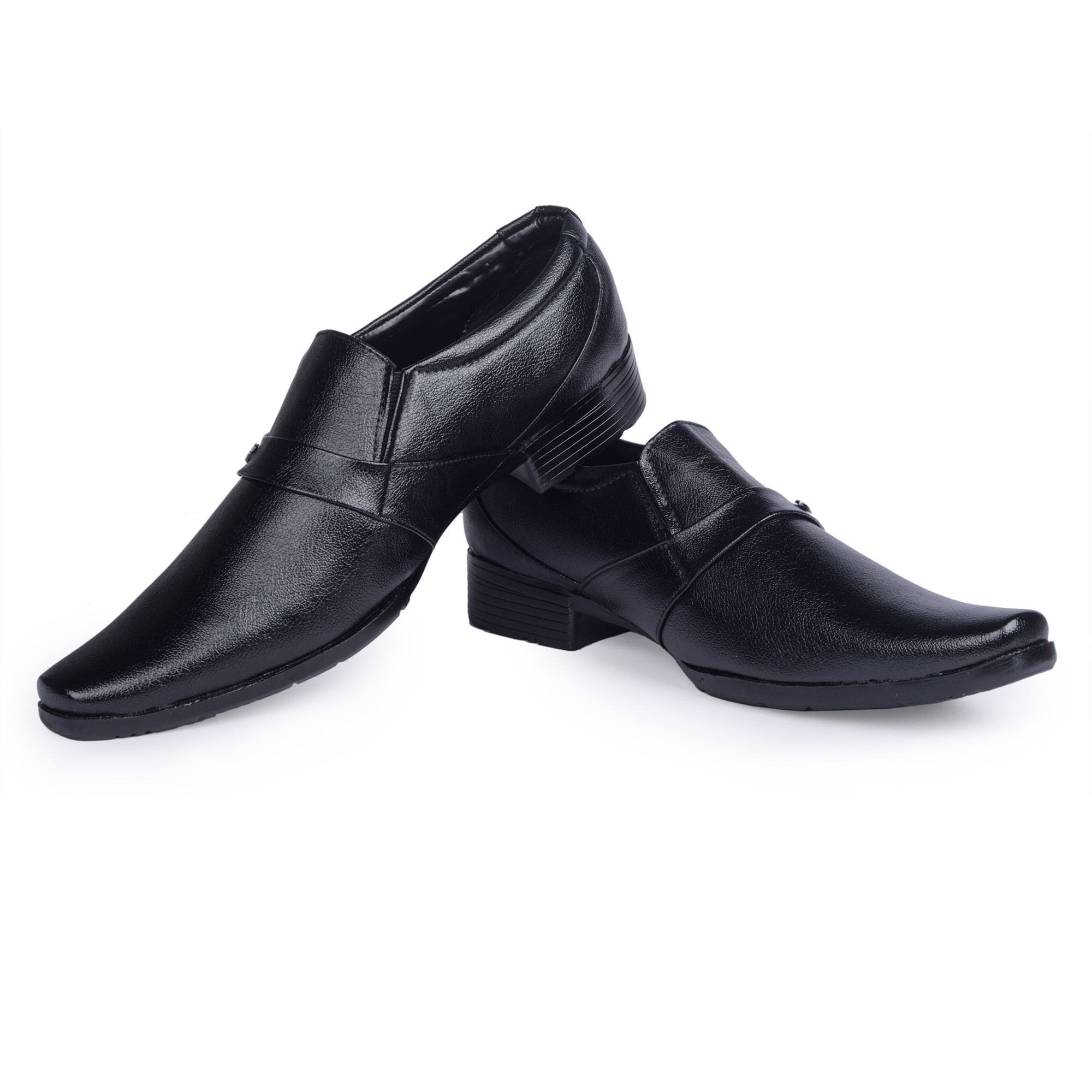 banjoy black formal shoes prices in india shopclues