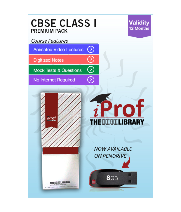 IProf's CBSE Class 1 Maestro Series Premium Pack On Pen-Drive [CLONE]
