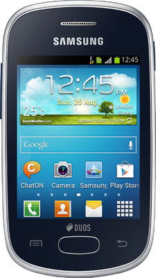 Samsung Galaxy Star S5282 in Black available at ShopClues for Rs.4379