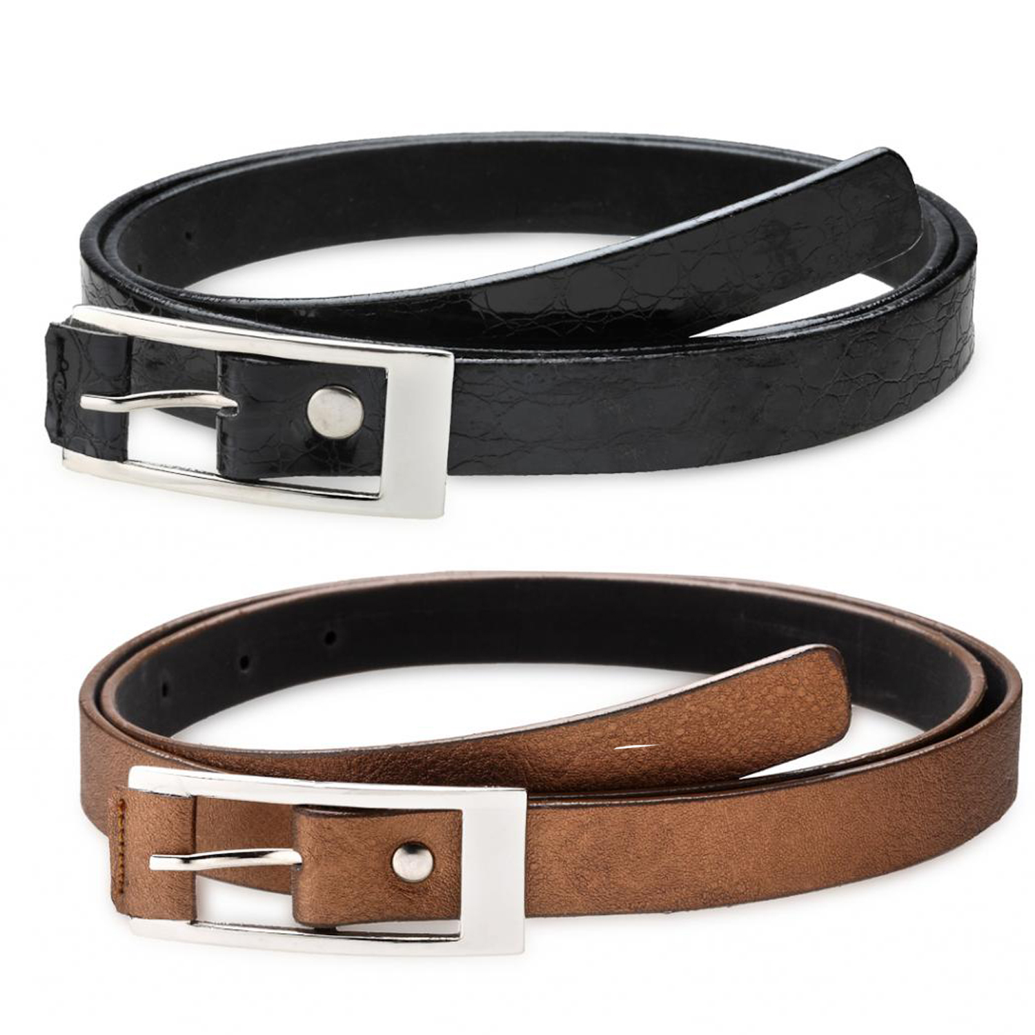 combo s leather belt black brown