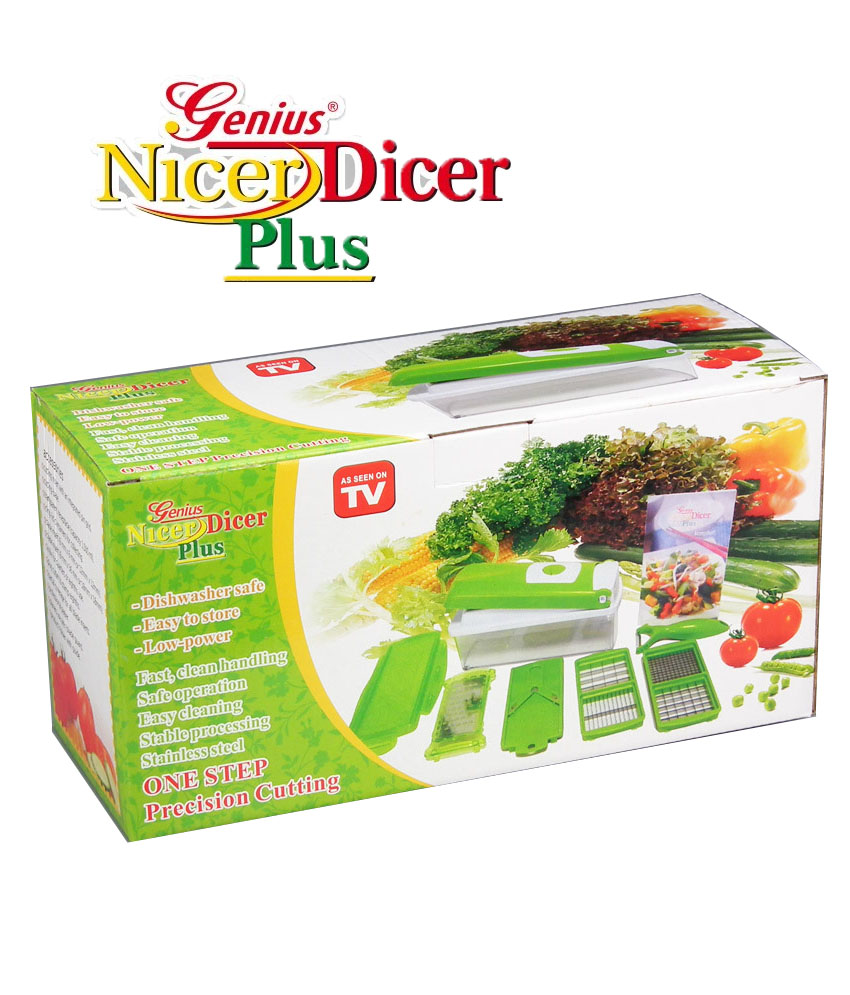 genius nicer dicer plus available at shopclues for. Black Bedroom Furniture Sets. Home Design Ideas