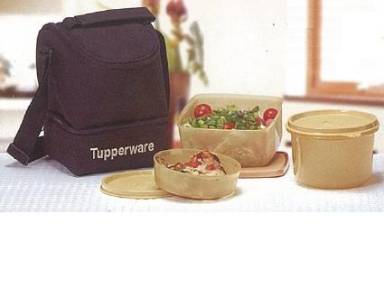Tupperware Lunch Box With Insulated Bag - Trendy