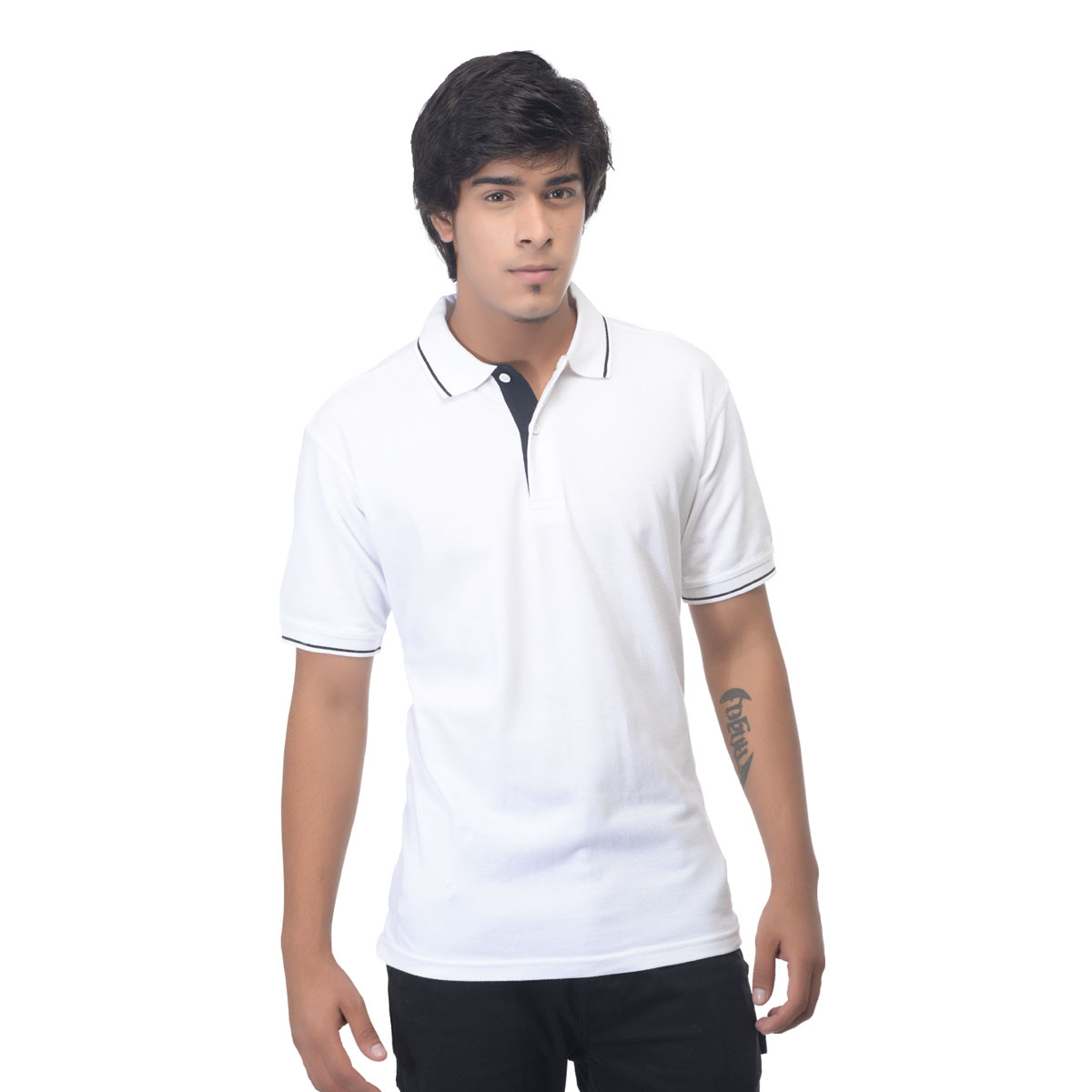 Fashion men 39 s apparel western wear t shirts for Full sleeve polo t shirts