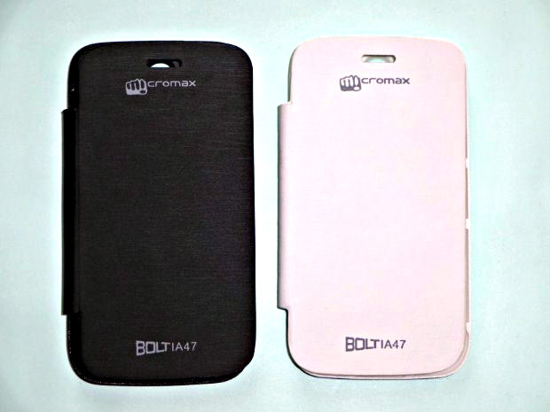 Micromax Bolt A47 Flip Cover available at ShopClues for Rs.199