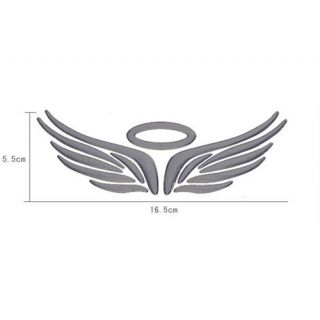 Car Emblem With Wings 3d angel wings for car logo