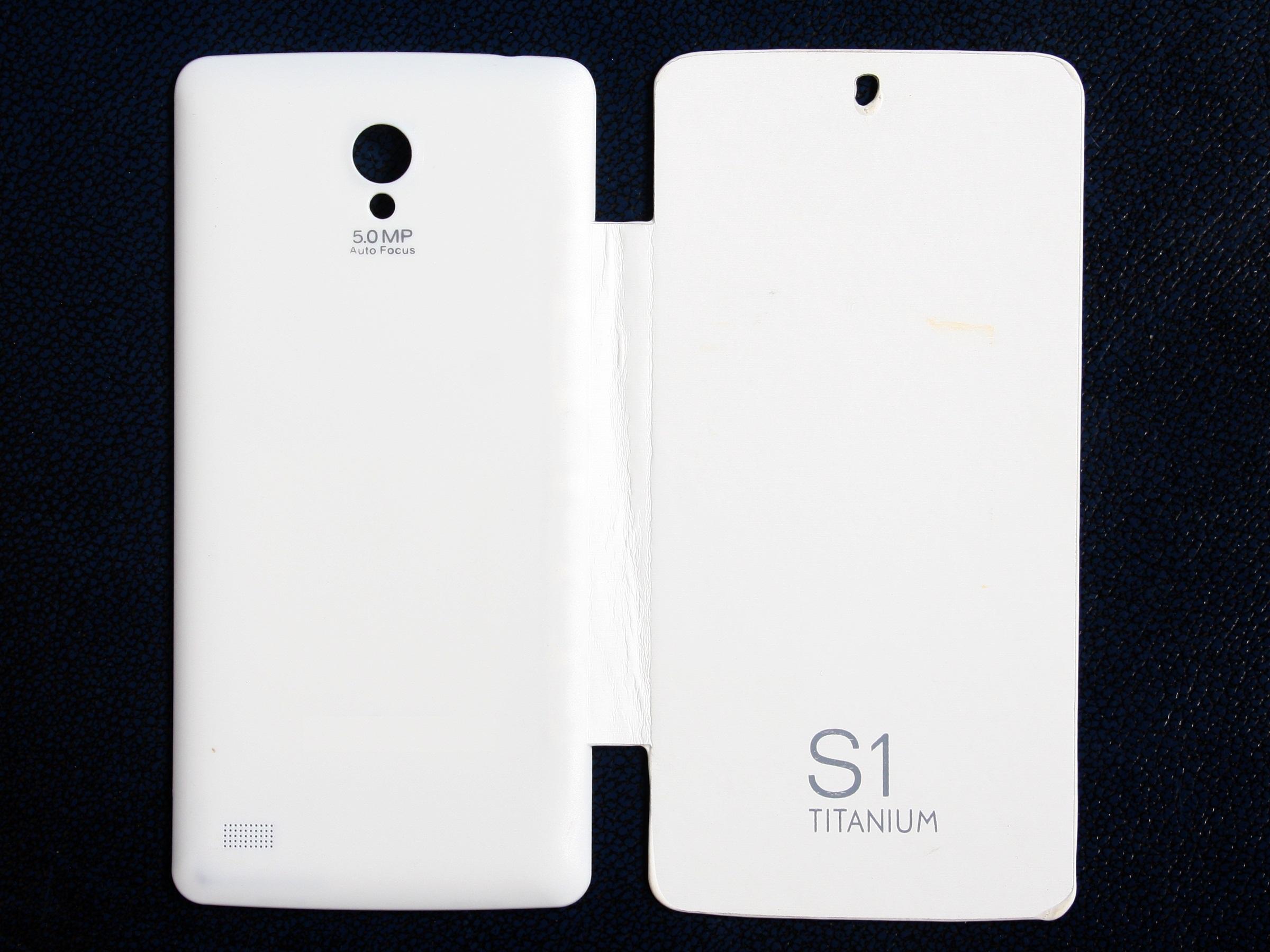 Koloredge Flip Cover For Karbonn S1 Titanium  White available at ShopClues for Rs.199