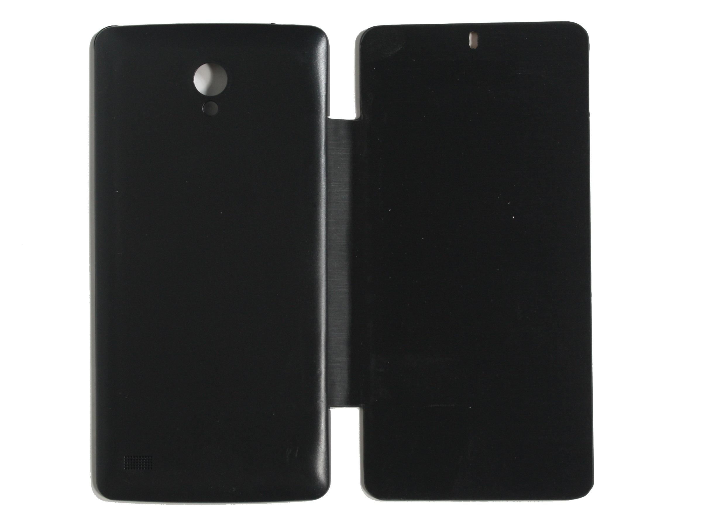 Koloredge Flip Cover For Karbonn S1 Titanium  Black available at ShopClues for Rs.199