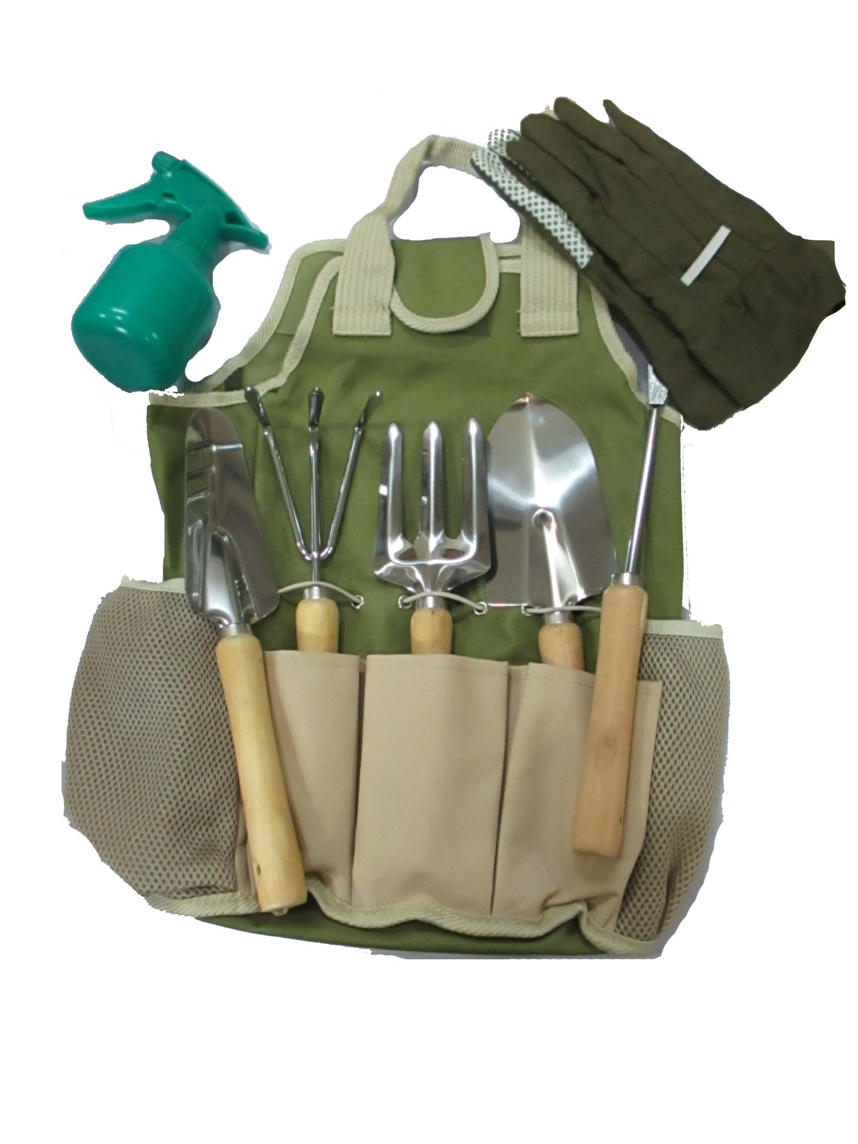 Prism Garden Tool Carry Bag WCA552.04 Garden Tool Kit(8 Tools)