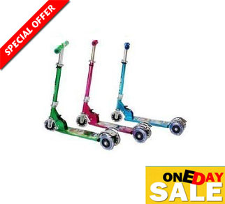 Kids Super Byke Scooter available at ShopClues for Rs.699