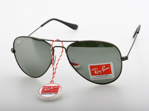 ray ban silver glass aviator  ray ban silver mirrored aviators
