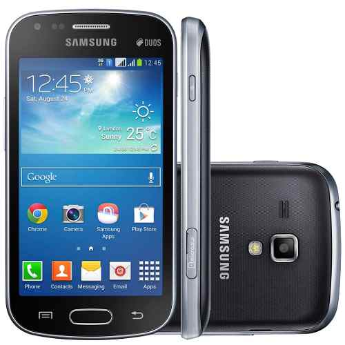 Samsung Galaxy S Duos 2 7582 Android SmartphoneBlack available at ShopClues for Rs.7999